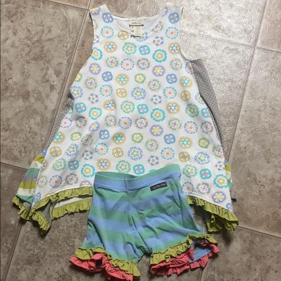 Matilda Jane tunic and shorts